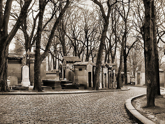Parisian cemeteries