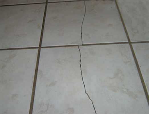 Cracks in the floor